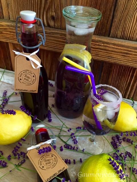 Lavendel Sirup 1
