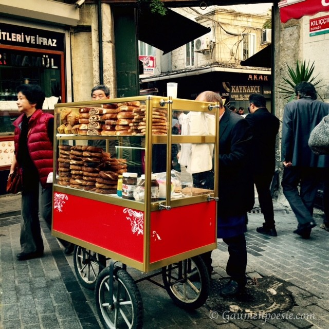 Simit Stand in Istanbul
