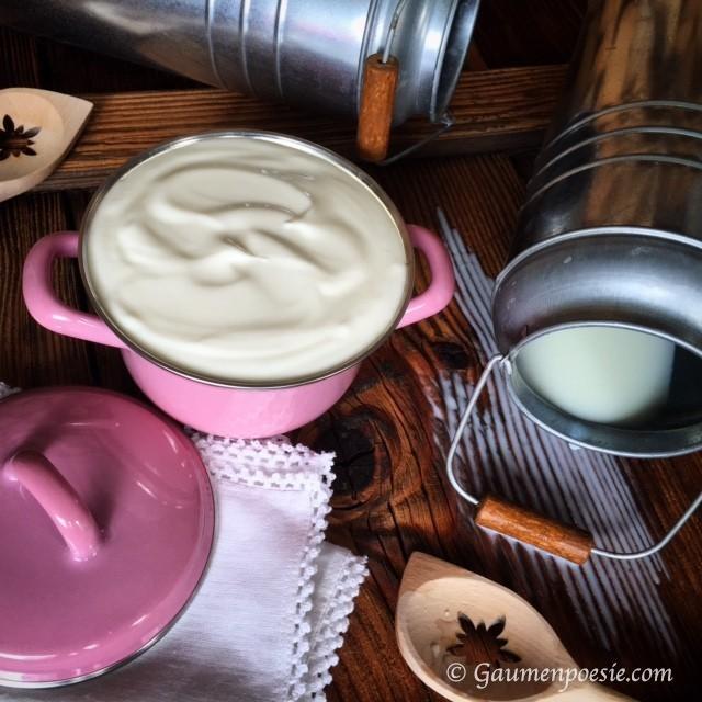 Selbstgemachtes Joghurt 2