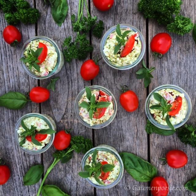 Hüttenkäse Salat 3