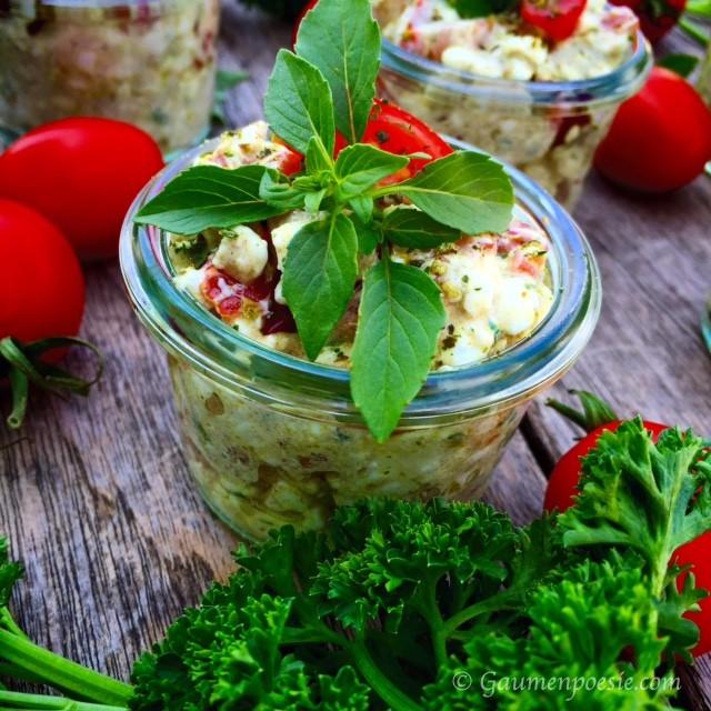 Hüttenkäse Salat 2