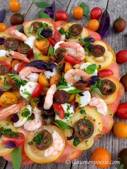 Bunter Tomatensalat 2