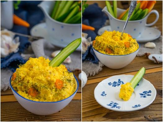 Türkischer Karottenaufstrich - Havuçlu Yoğurt 3