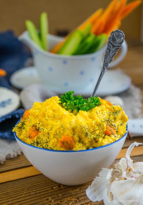 Türkischer Karottenaufstrich – Havuçlu Yoğurt