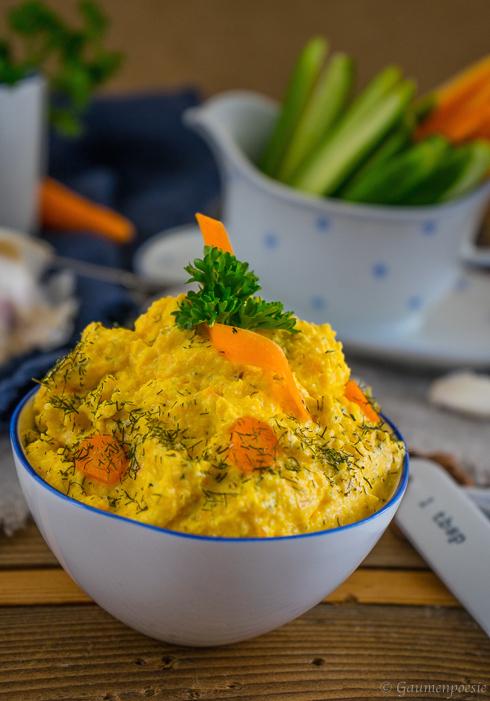 Türkischer Karottenaufstrich - Havuçlu Yoğurt 4