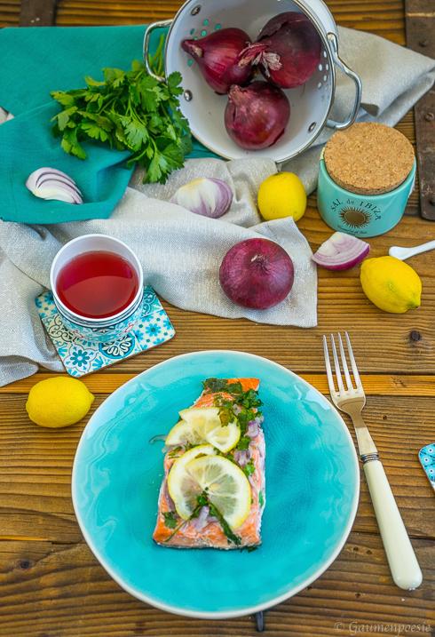 Ofenlachs - Lachsfilet mit Petersilie und Zitrone 5