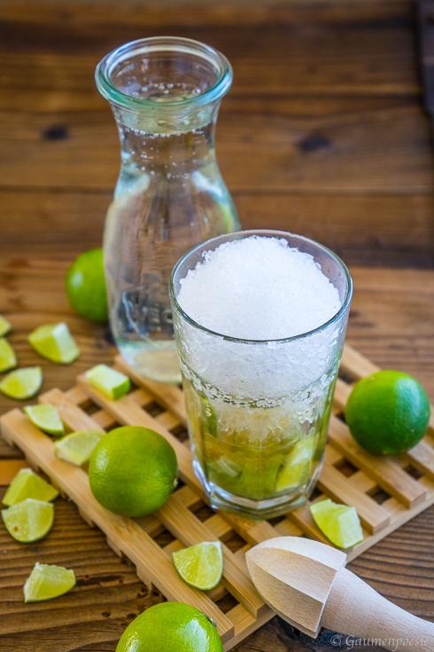 Lime Squash - Alkoholfreier Limetten Cocktail 2