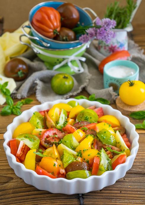 Ofengerösteter Tomatensalat 5