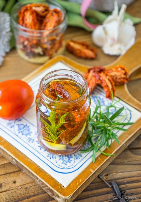 Eingelegte getrocknete Tomaten - Pomodori secchi sott'olio 4