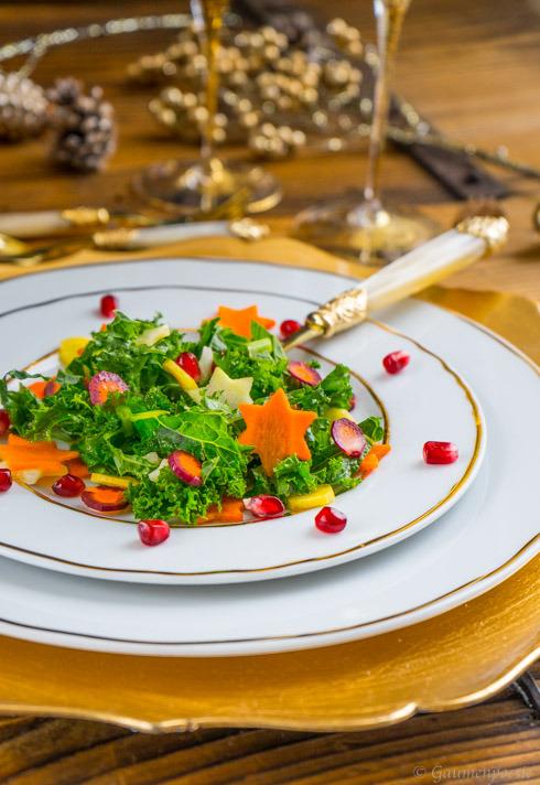 Grünkohl Salat 3