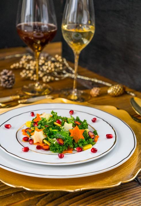 Grünkohl Salat 1