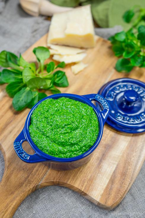 Kanarische Salzkartoffel mit Feldsalat-Pesto 5