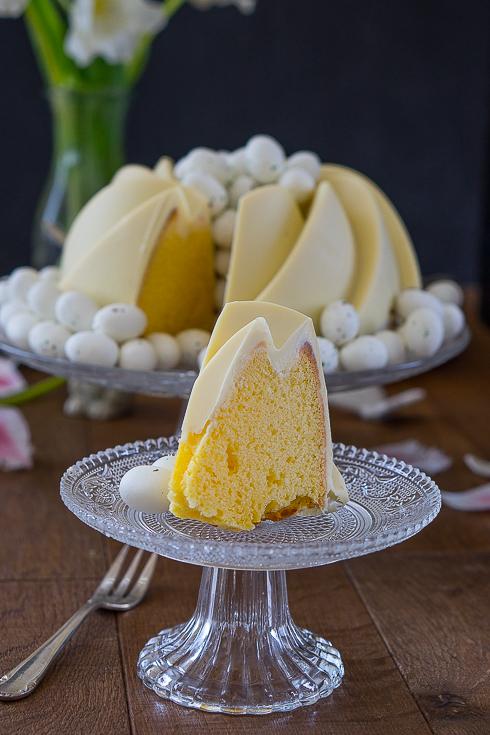 Zitronen-Buttermilch-Gugelhupf 3