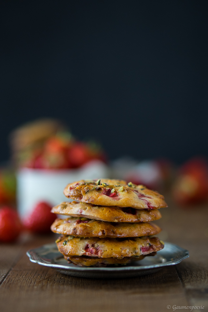 Erdbeer Cookies 4