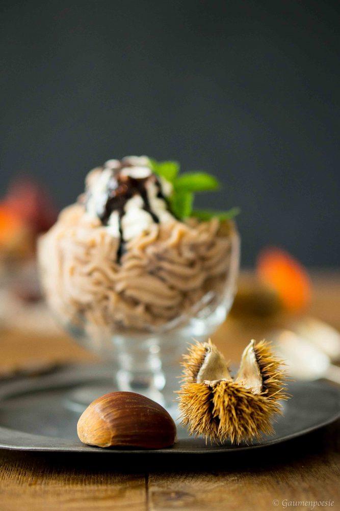 Vermicelles – Süßes Maroni-Püree