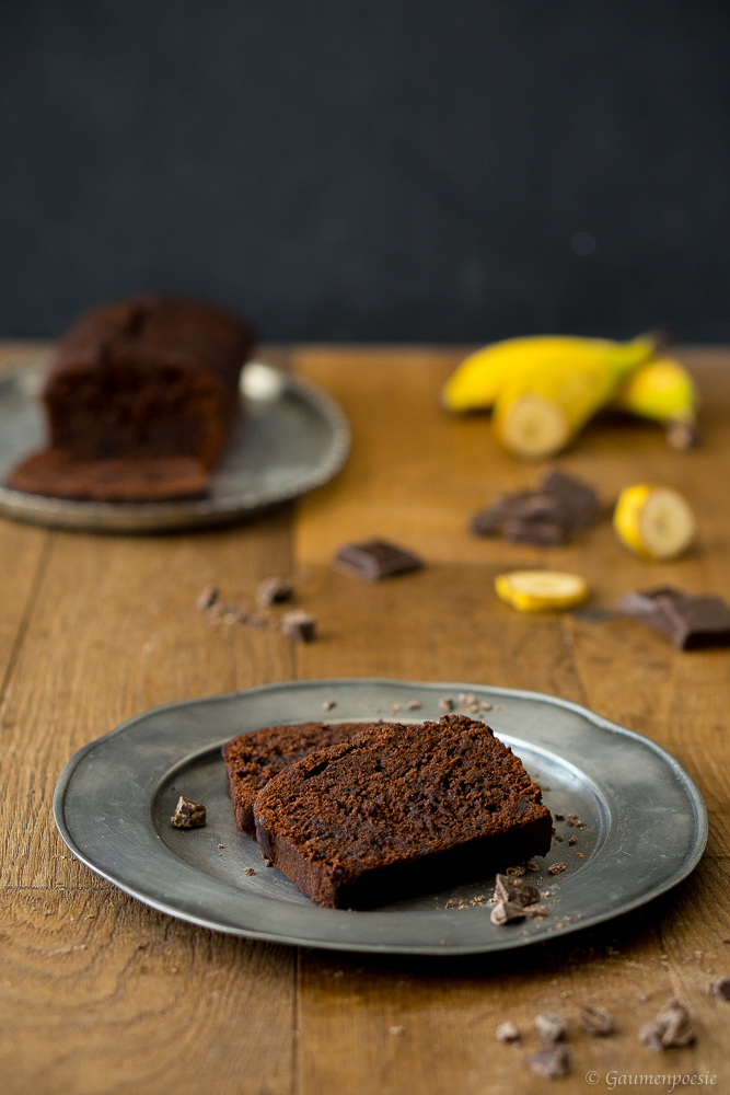 Double Chocolate Banana Bread