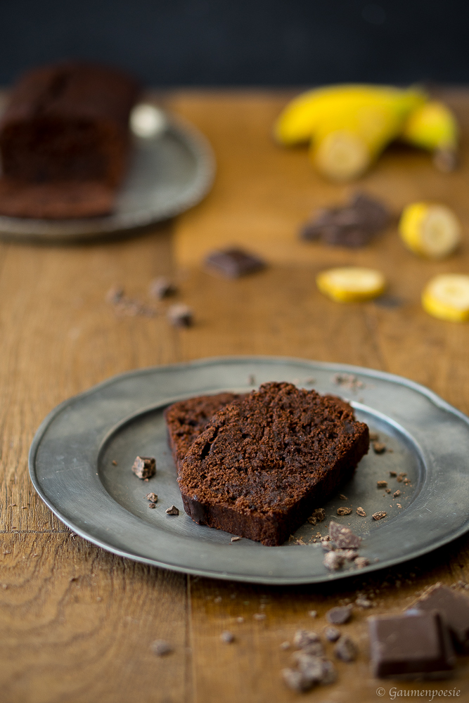 Double Chocolate Banana Bread 3