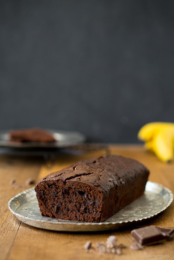 Double Chocolate Banana Bread 2