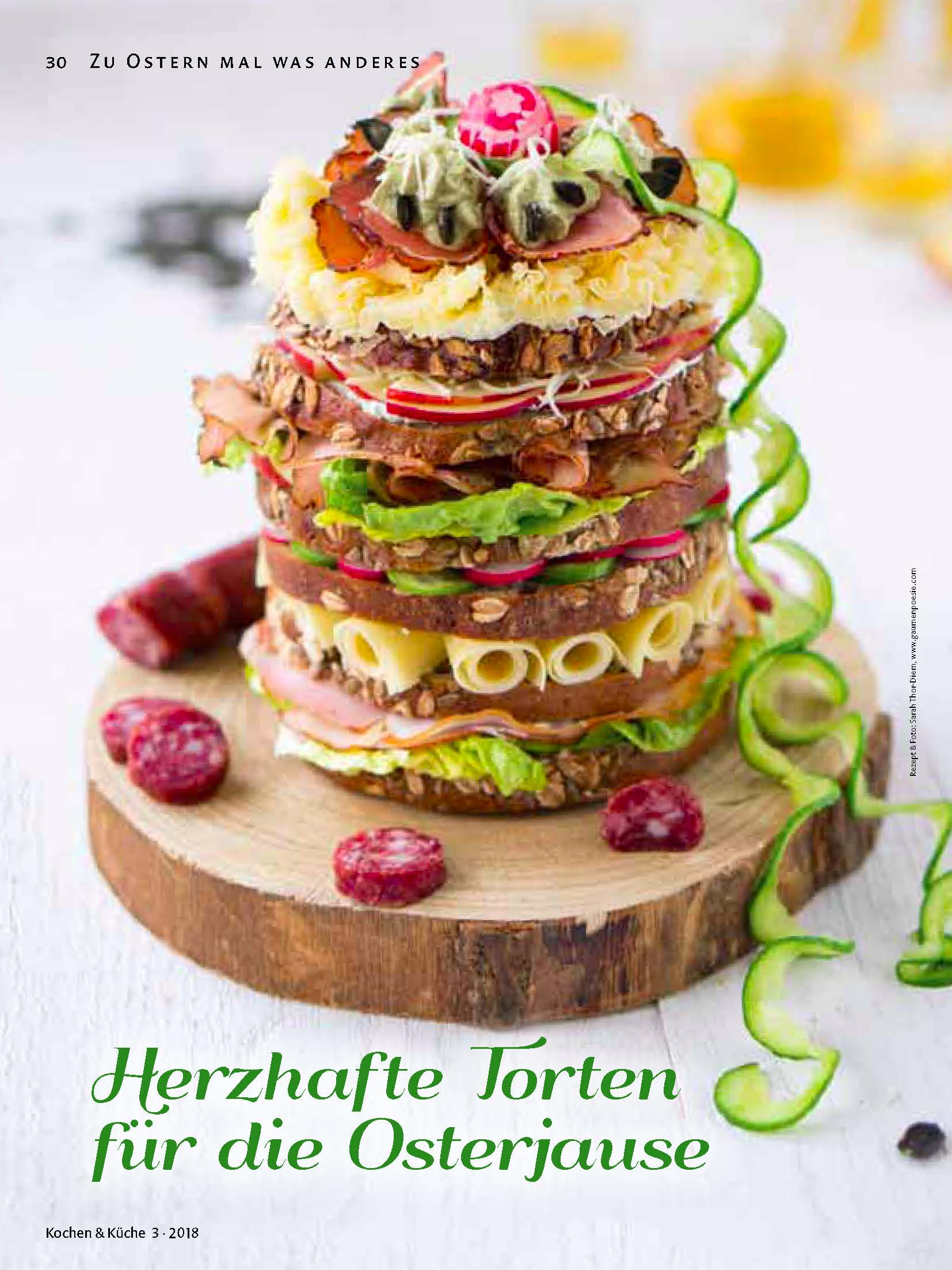 Steirische Osterjausen-Torte - Gaumenpoesie