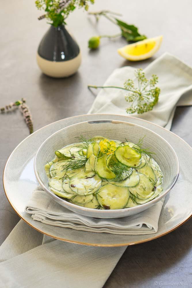 Steirischer Gurkensalat 5